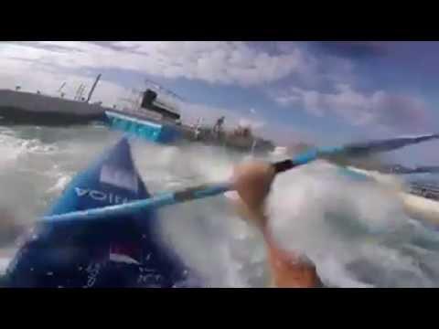 Олимпийский слаломный канал (вид от первого лица)