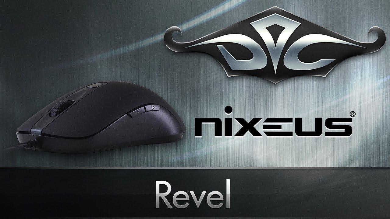 Обзор Nixeus Revel редкой игровой мыши