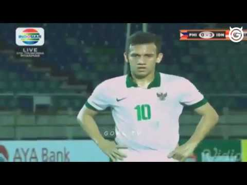 Indonesia u18  VS Filipina  u18 9:0  7 September 2017