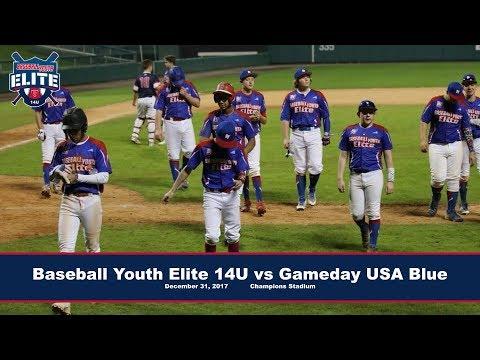 Baseball Youth Elite 14U vs Gameday USA 14U Blue