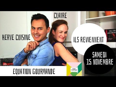 Hervé Cuisine et Claire de retour ! RDV samedi 15 novembre à Happy Happening