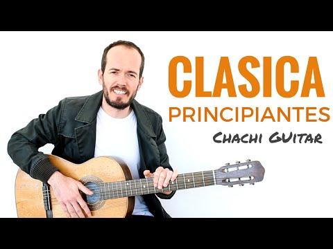 Guitarra Clásica para Principiantes - Empieza con algo fácil y bonito +TAB