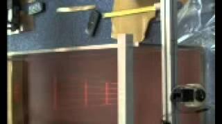 Dam break wave of non-Newtonian thixotropic fluid