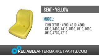 121 New Seat John Deere 4200 4210 4300 4310 4400 4410 4500 4510 4600 4610 4700 4710