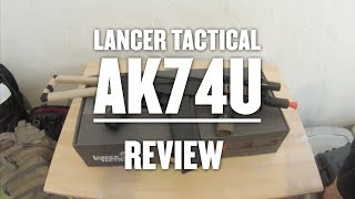 Lancer Tactical AK 74U review and gameplay