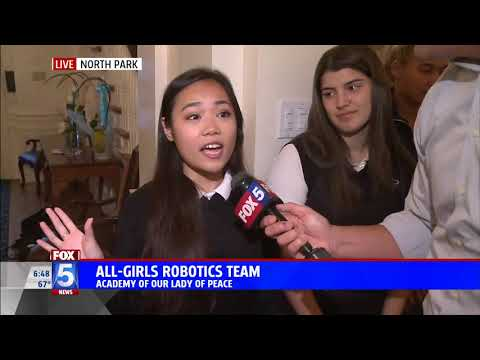 The Academy of Our Lady of Peace highlights its STEM program on FOX 5