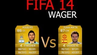 FIFA 14 PC - Wager Match - Aguero vs Mata (United) vs MultiGamingARMY1