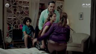 مسلسل يوميات زوجة مفروسة| أخوكي الصغير لما يهدي النفوس بينك وبين باباكي