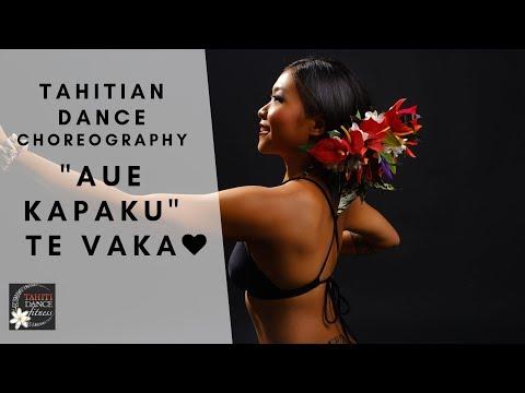 Aue Kapaku - Te Vaka / Tahitian Dance Tutorial/ Beginners/ Polynesian Dance/Ori Tahiti/ タヒチアンダンス thumbnail