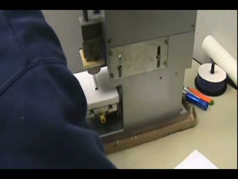 ASC365  Pad Printing Inkcup Machine Using Curved Surface Instruction