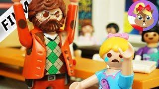 Playmobil Rodzina Wróblewskich | HANIA DOPROWADZONA DO PŁACZU przez nauczyciela
