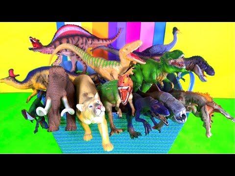 Pelajari Tentang Binatang Liar Dan Namanya - Hewan Binatang - Mainan Anak-anak - Pendidikan