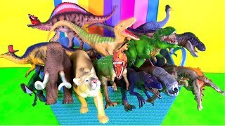 Learn about Wild Animals and their Names - Zoo Animals - Mammoth - Kids Fun Educational Toys