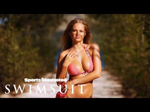 Genevieve Morton Soaks Up The Sun & Gets Playful | Intimates | Sports Illustrated Swimsuit