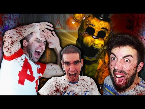 TJOCR RECOPILACIÓN SUSTOS MULTICAM | FREDDY FNAF TJOCR ( Five nights at freddy's) | TheCorvusClan