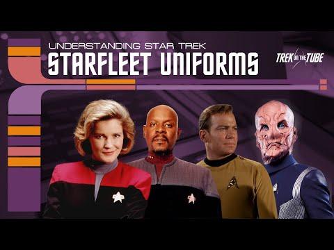 STAR TREK - Understanding Starfleet Uniforms