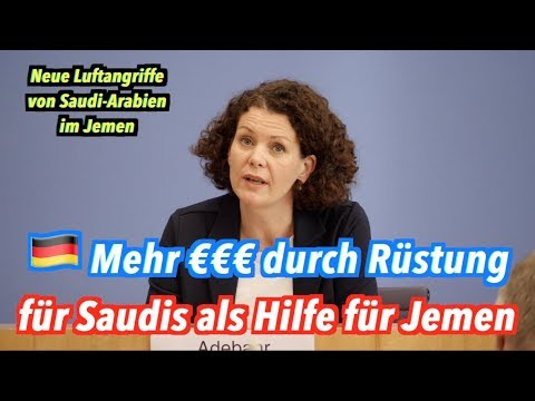 Deutschland: Mehr Geld mit Rüstung an Saudis als Hilfe für Jemeniten