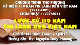 HTTL PHAN THIẾT - Chương trình thờ phượng Chúa - 11/07/2021