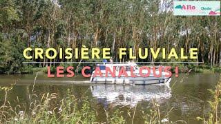 Vacances en Famille: Croisière Fluviale Les Canalous en Mayenne !