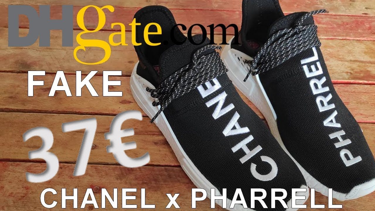 finest selection 3cb78 4a221 FAKE CHANEL x PHARRELL x NMD hu DHGATE