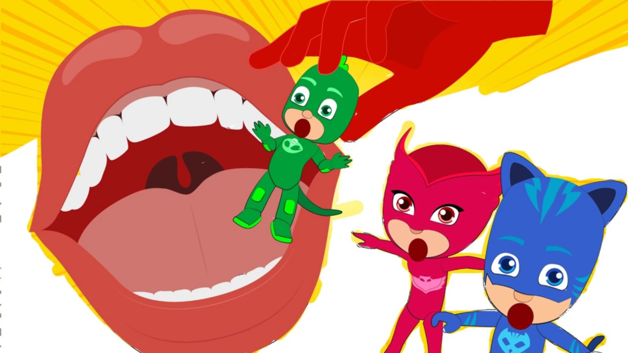 How To Draw and Color Pj Masks Coloring Pages Finger Family song ...