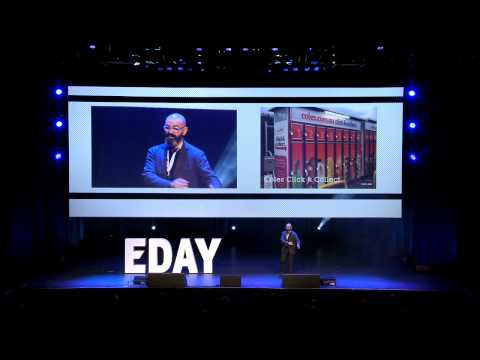 Ibrahim Ibrahim (design and consultancy Portland) at Emerce eDay 2013