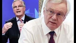 Brexit on the brink Furious Davis hits out at Barnier's EU transition deal THREAT