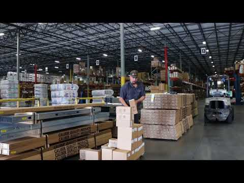 Warehouse Job Preview