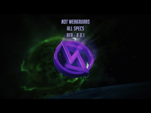 Warlock Weakauras - BFA - Affliction, Demonology, Destruction