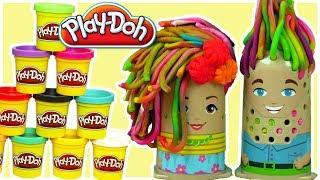 Play Doh • Afera u Fryzjera • Kolorowe szaleństwo • bajki dla dzieci