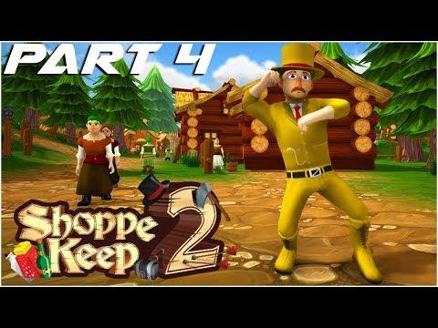 FISHING VENDOR, EXPORT QUESTS & ALL 5 HELPER BOTS!! - Shoppe Keep 2 Gameplay Part 4