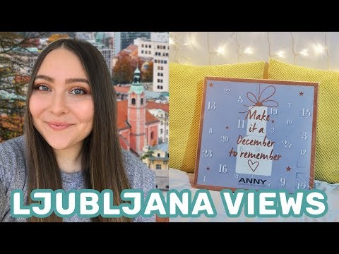 Ljubljana Castle & Anny Advent Calendar Unboxing | Life in Slovenia