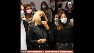 Brigitte Macron était en visite à la faculté de Droit de Marseille
