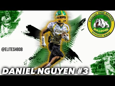 Daniel Nguyen Senior Highlights HD   Kaimuki High School (HI)   Class Of '17