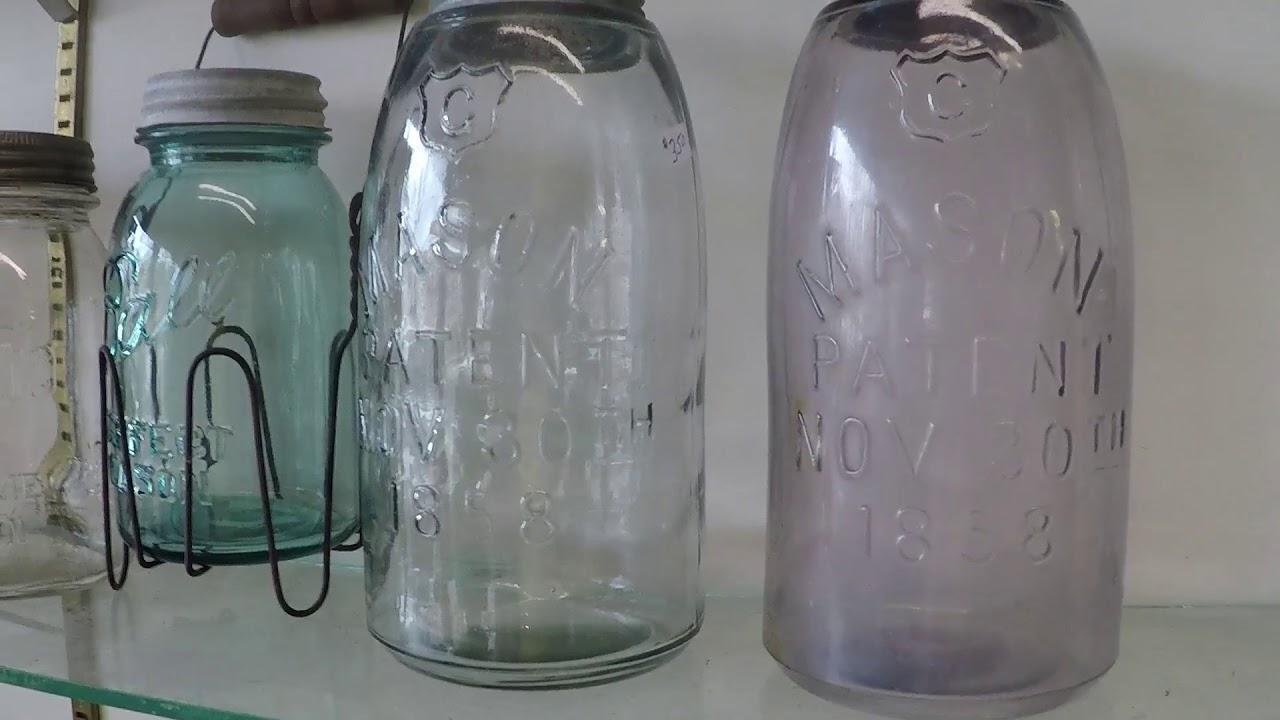 Lost Clip Trash To Treasure Rare Mason Jar More Antique Picking