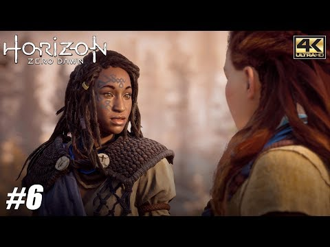 Horizon Zero Dawn - PS4 Pro Gameplay Playthrough 4K 2160p - PART 6