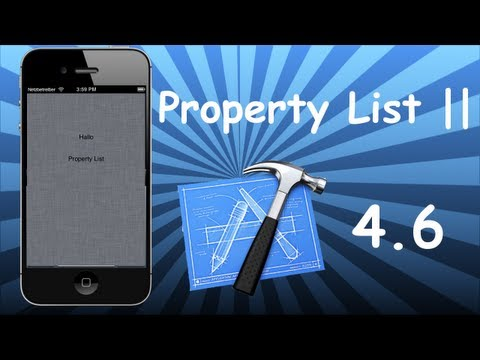 Xcode 4.6 Tutorial - Property List Part 2 (Verschachtelte Dictionary)