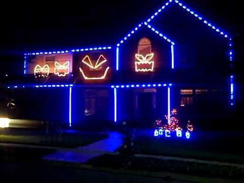 Ghostbusters Halloween Lights