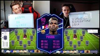 Barcelona POGBA TRANSFER Squad Builder Battle Prognose für FIFA 19 - Fifa 18 Ultimate Team