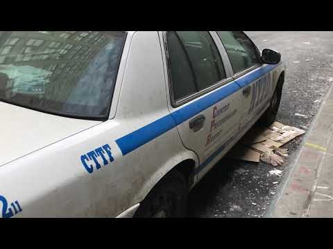 """NYPD CTTF """"11 Ford Crown Victoria police interceptor"""