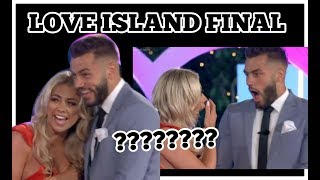 LOVE ISLAND FINALE : PAIGE AND FINLEY WON!? WTF?! I'M SO ANGRY.