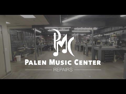 Palen Music Center - Repair Shop Tour