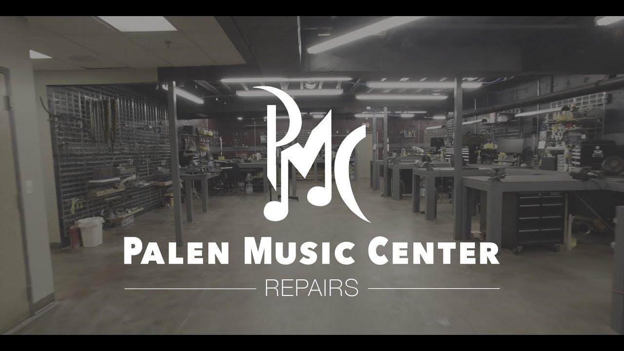 palen music center repair shop tour youtube. Black Bedroom Furniture Sets. Home Design Ideas