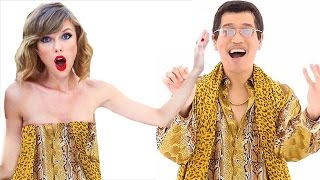 Download lagu Pen Pineapple Apple Pen PPAP in 9 Music Styles MP3