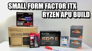 RYZEN APU Build Small Form Factor ITX Gaming/Emulation PC