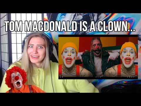 "Tom MacDonald – ""Clown World"" (REACTION)"