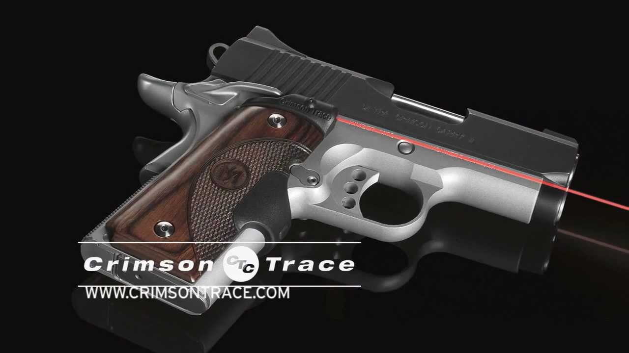 Crimson Trace Master Series Lasergrips For 1911 Pistols Youtube
