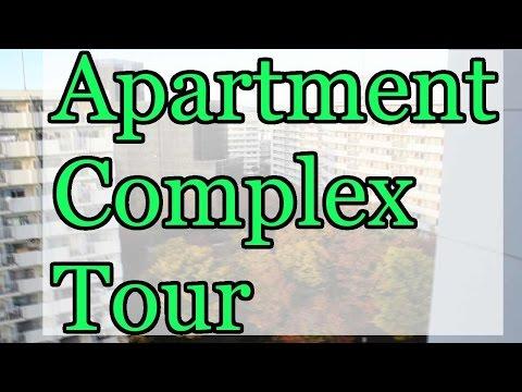 Apartment Complex Tour | Osaka, Japan