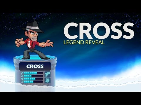 Cross - Brawlhalla Legend Reveal