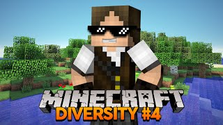 Minecraft Diversity #4: A Ilha Paradisíaca! (Parte 1)
